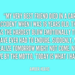 Quotes About Car by Amber Heard