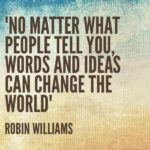 Quotes About Change by Robin Williams