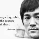 Quotes About Courage by Bruce Lee