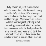 Quotes About Dad by David Archuleta
