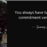 Quotes About Fear by Sammy Davis, Jr.