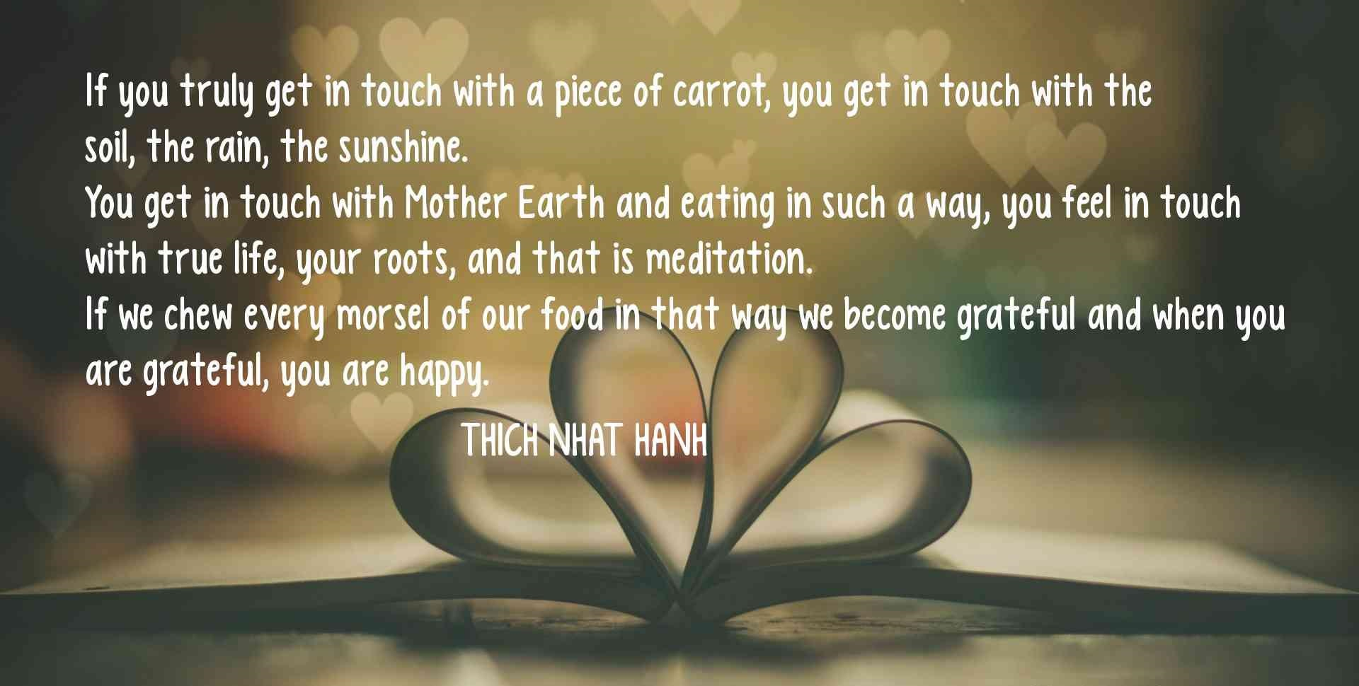 Quotes About Food And Friendship Quotes About Foodthich Nhat Hanh  Upload Mega Quotes