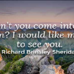 Quotes About Gardening by Richard Brinsley Sheridan