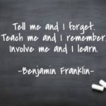 Quotes About Learning by Benjamin Franklin