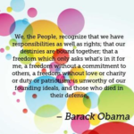 Quotes About Patriotism by Barack Obama