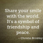 Quotes About Smile by Christie Brinkley
