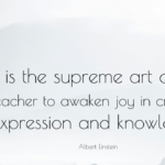 Quotes About Teacher by Albert Einstein