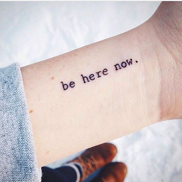 Best Tattoo Quotes About Life Captivating Best 25 Small Quote Tattoos Ideas On Pinterest  Tatto Quotes