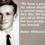 Robin Williams Great Quotes about Alone