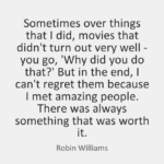 Robin Williams Quotes About Movies