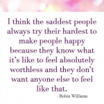 Robin Williams Quotes Saddest People