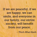 Society Quotes by Thich Nhat Hanh