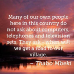 Thabo Mbeki Quotes About Computers