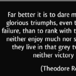 Theodore Roosevelt Quotes About Failure