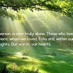 Uplifting Quotes For Losing A Loved One
