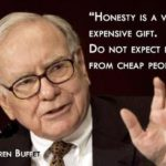 Warren Buffett Quotes Honesty