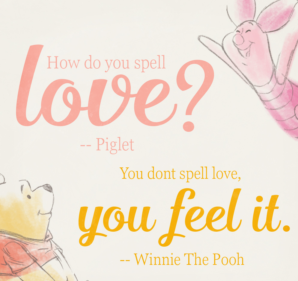 Winnie The Pooh Quotes About Love And Friendship Winnie The Pooh Quotes How Do You Spell Love  Upload Mega Quotes