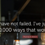 Work Quotes by Thomas A. Edison