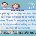 1st Anniversary Quotes For Him Facebook
