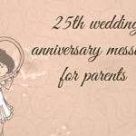 25th Anniversary Quotes For Parents