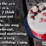 40th Birthday Sayings Twitter