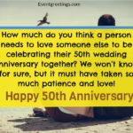 50th Marriage Anniversary Wishes Pinterest