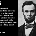 A. Lincoln Quotes About God