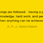 A. P. J. Abdul Kalam Inspirational Quotes