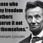 Abraham Lincoln Civil War Quotes