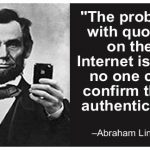 Abraham Lincoln Quotes Internet