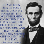 Abraham Lincoln Quotes On God StumbleUpon