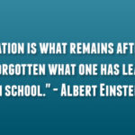 Albert Einstein Educational Quotes