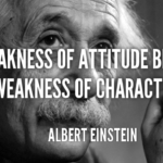 Albert Einstein Quotes About Attitude