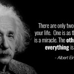 Albert Einstein Quotes about Life
