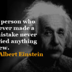 Albert Einstein Quotes about Success