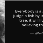 Albert Einstein Quotes on Fish