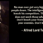 Alfred Lord Tennyson Quotes about Man