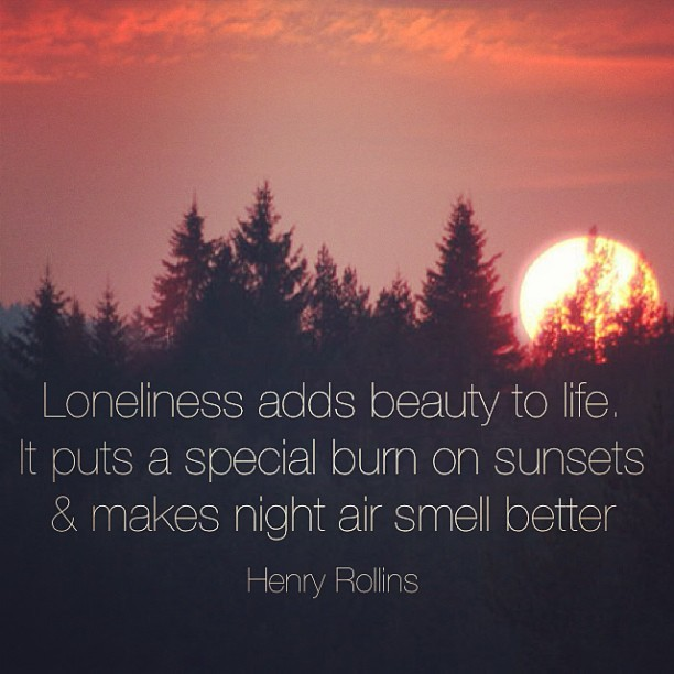 Alone Quotes by Henry Rollins