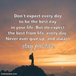 Always Be Positive In Life Quotes Twitter