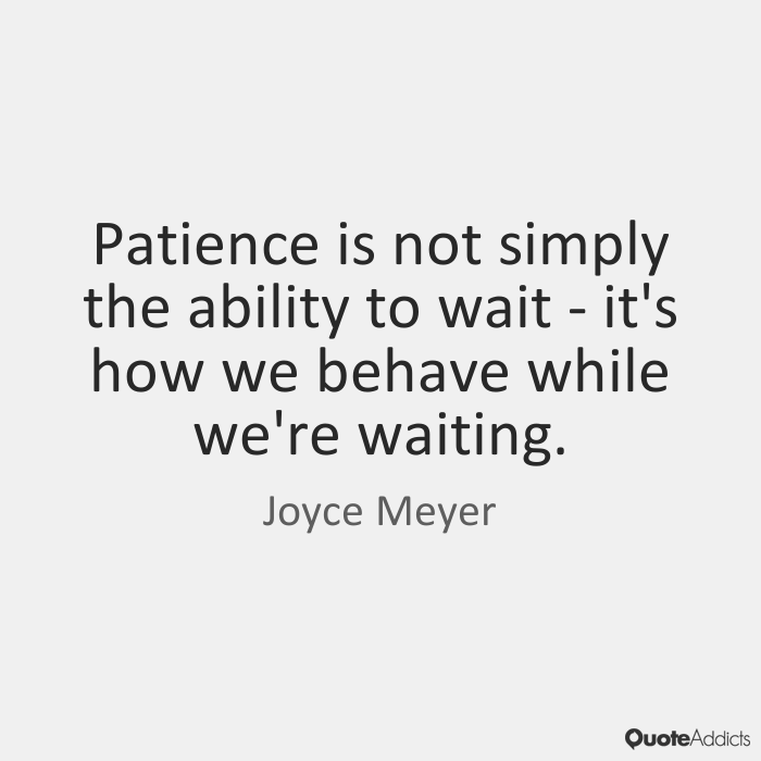 Amazing Quotes about Patience