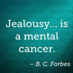 Amazing Quotes by B. C. Forbes about Jealousy