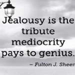 Amazing Quotes by Fulton J. Sheen about Jealousy