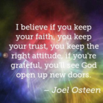 Amazing Quotes by Joel Osteen about Trust