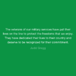 Amazing Quotes by Judd Gregg about Veterans Day