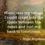 Amazing Quotes by Maya Angelou about Space