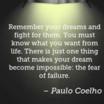 Amazing Quotes by Paulo Coelho about Failure