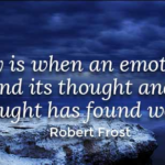 Amazing Quotes by Robert Frost about Poetry