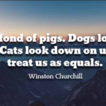 Amazing Quotes by Winston Churchill about Pet