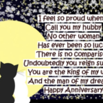 Anniversary Quotes or Poems From Wife To Husband