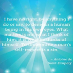 Human Quotes | Antoine de Saint-Exupery Quotes